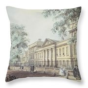 Pd.63-1958 Emmanuel College, Cambridge Throw Pillow