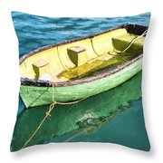 Pea-green Boat - Impressions Throw Pillow