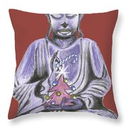 Peace And Goodwill Two Throw Pillow