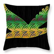 Peace Birds Throw Pillow