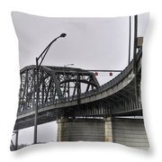 Peace Bridge 00a  Throw Pillow