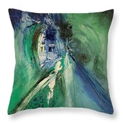 Peace Chaotic Throw Pillow