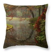 Peace In A Garden Throw Pillow