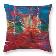 Peace In Chaos Throw Pillow
