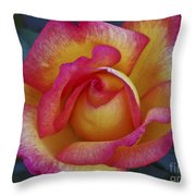 Peace In Floral Format Throw Pillow