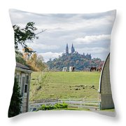 Peace In The Country  Throw Pillow
