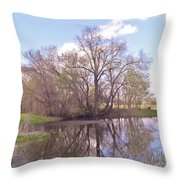 Peace In The Woods Throw Pillow