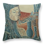 Peace Inside Us Throw Pillow