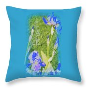 Peace Is Possible Throw Pillow