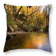 Peace Like A River Throw Pillow