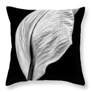 Peace Lily IIi Throw Pillow
