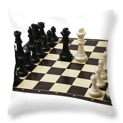 Peace Negotiations At The Summit Level - Featured 3 Throw Pillow