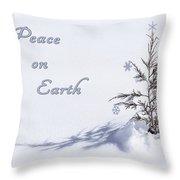 Peace On Earth 2 Throw Pillow