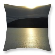 Peace On The Water Throw Pillow