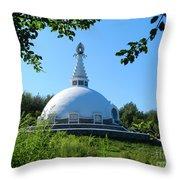 Peace Pogota Throw Pillow