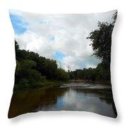 Peace River 3 Throw Pillow