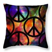 Peace Series Viii Throw Pillow