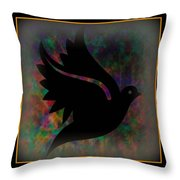 Peace Series Xii Throw Pillow