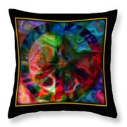 Peace Series Xxi Throw Pillow