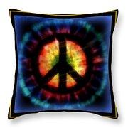 Peace Series Xxiii Throw Pillow