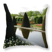 Peace Upon You. Keukenhof In Spring Throw Pillow