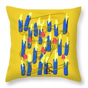 Peace Will Find A Way Throw Pillow