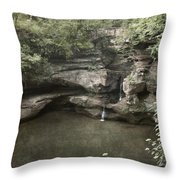 Peaceful Contemplation Throw Pillow