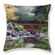 Peaceful Dreams Throw Pillow