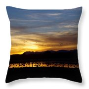 Peaceful Endings Throw Pillow