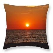 Peaceful Evening Throw Pillow