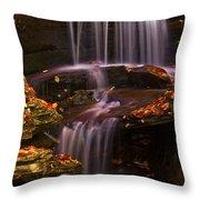 Peaceful Little Falls Throw Pillow