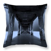Peaceful Pacific Throw Pillow