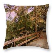 Peaceful Repose Throw Pillow