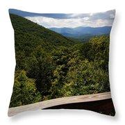 Peaceful View Throw Pillow