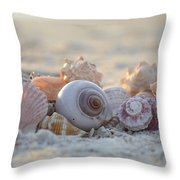 Peaceful Whispers Throw Pillow