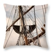 Peacemaker Rigging Throw Pillow
