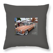 Peach Classic Throw Pillow