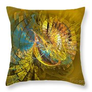 Peacock 2 Throw Pillow