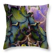 Peacock Dream 4 Throw Pillow