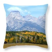 Peak Cloud Throw Pillow
