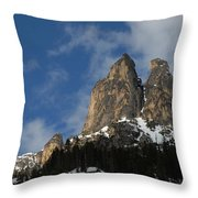 Peaks In The North Cascades Throw Pillow