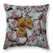 Peanut Butter Kisses - Candy - Sweets - Treats Throw Pillow