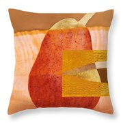 Pear 44 Throw Pillow