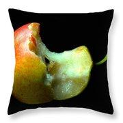 Bartlett Pear Bite Throw Pillow