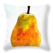Pear Still Life Throw Pillow