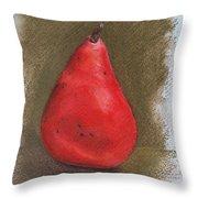 Pear Study 2 Throw Pillow