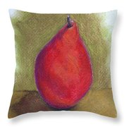Pear Study 3 Throw Pillow