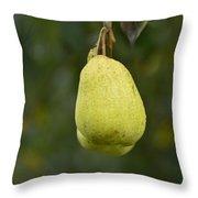 Pear Wine Throw Pillow