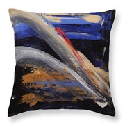 Pearl Girl Throw Pillow