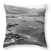 Pearl Harbor Throw Pillow